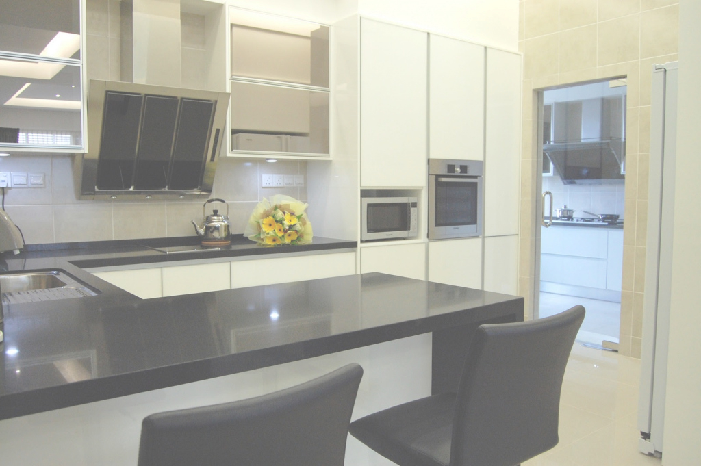 Fancy Meridian Design - Kitchen Cabinet And Interior Design Blog-Malaysia intended for Wet And Dry Kitchen Design