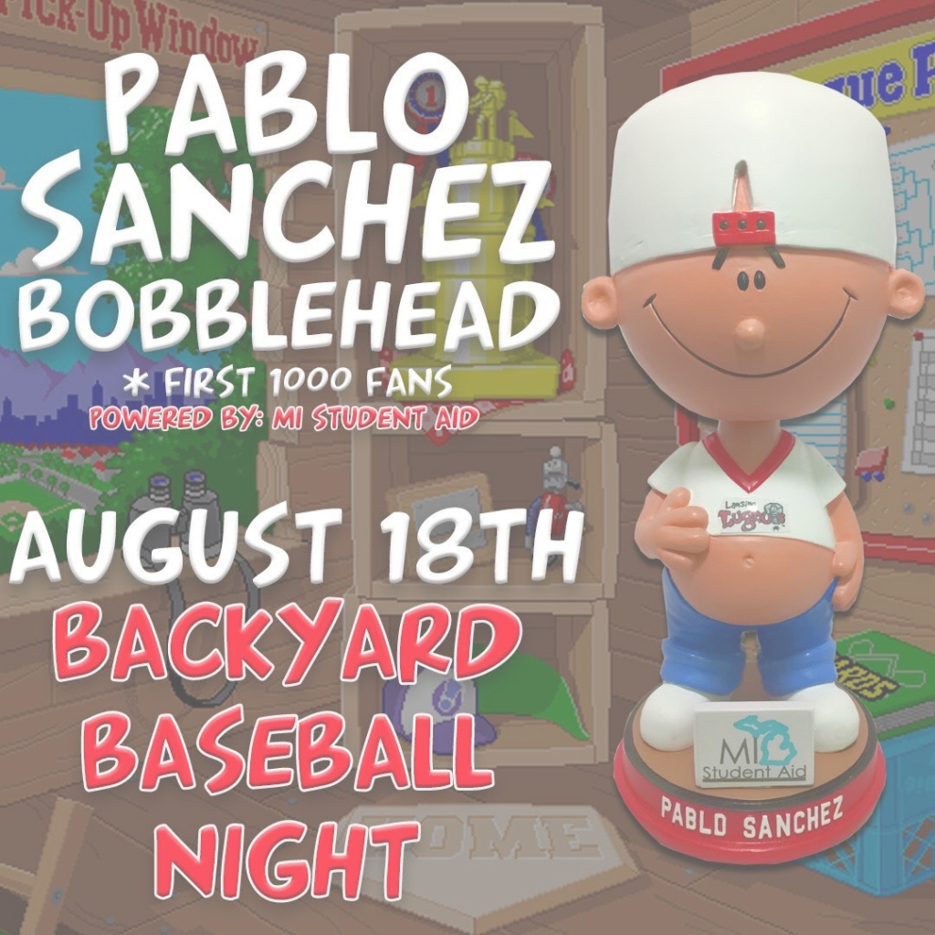 "Fancy Minor League Promos On Twitter: ""you've Seen The Pablo Sanchez intended for Pablo Sanchez Backyard Baseball"
