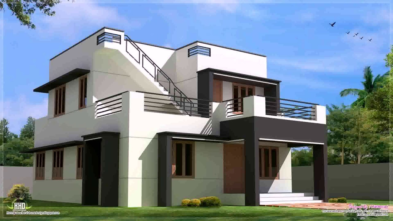 Fancy Modern House Paint Colors Exterior In Philippines - Youtube for Beautiful Modern House Paint