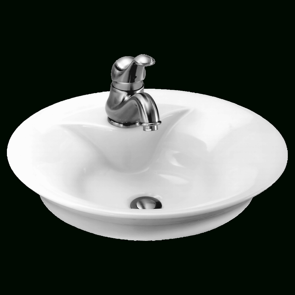 Fancy Morning Above Counter Bathroom Sink | American Standard intended for Standard Bathroom Sink