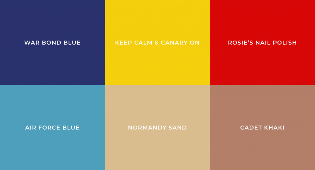 Fancy Most Popular Colors Defining Each Decade- The 20St Into The 21St Century in 1930S Color Palette