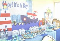 Fancy Nautical Theme Baby Shower Decorations Astonishing Ahoy Nautical within Unique Nautical Theme Baby Shower Decorations