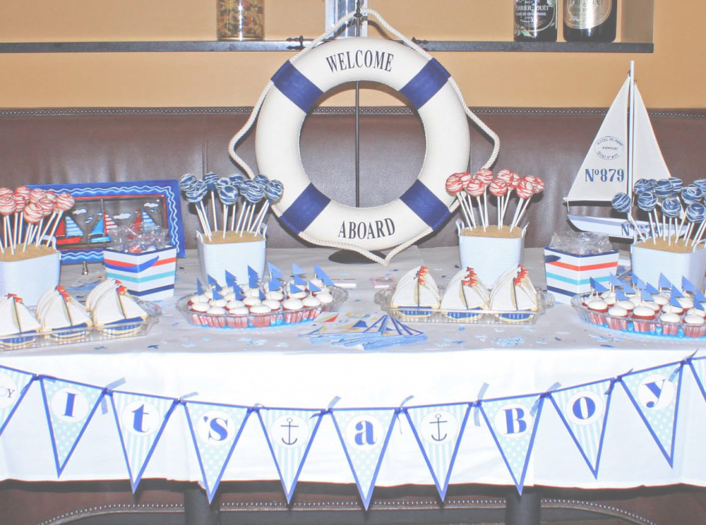 Fancy Nautical Themed Baby Shower Ideas | Omega-Center - Ideas For Baby inside Nautical Theme Baby Shower Decorations