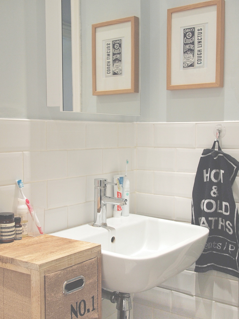 Fancy New Bathroom – What Katie Does inside Duck Egg Blue Bathroom Ideas