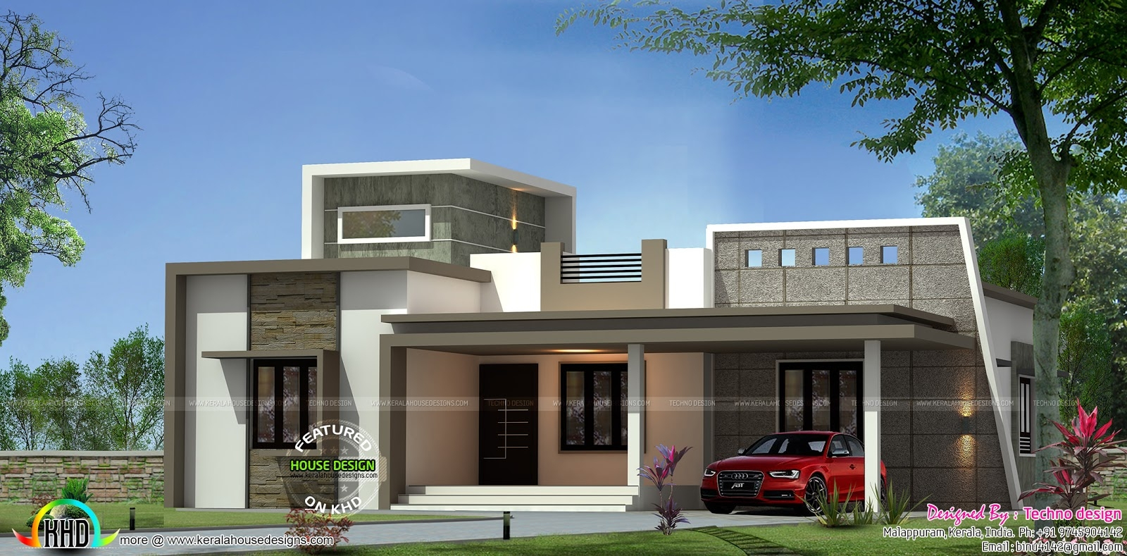 Fancy New House Plans Kerala Asian March Home Design And Floor 2 Bedroom pertaining to New House Plans In Kerala