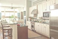 Fancy One Wall Kitchen Designs With An Island One Wall Kitchen Designs pertaining to Lovely One Wall Kitchen With Island