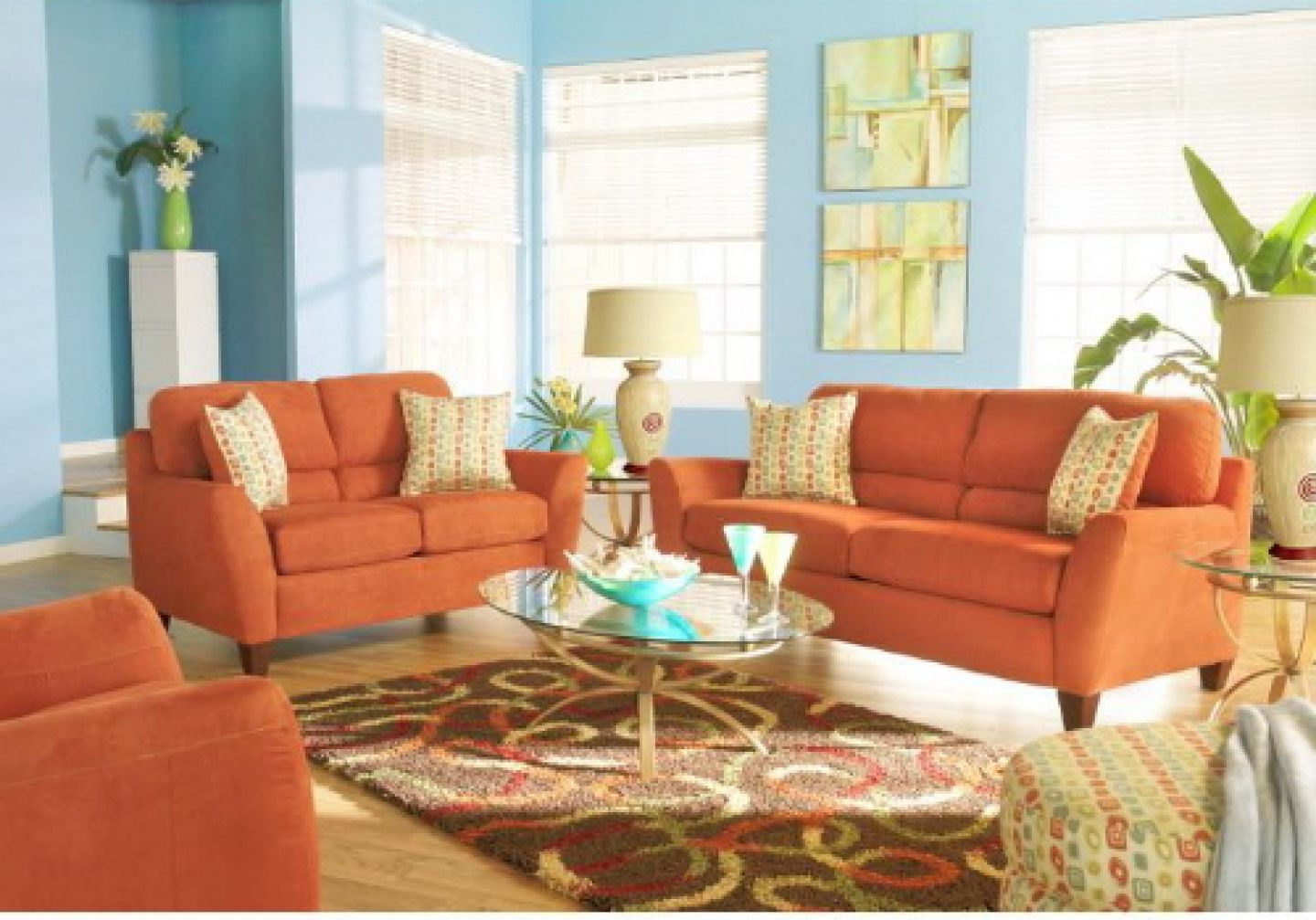 Fancy Orange Couch Living Room New Burnt Furniture Nice Decoration Within with Burnt Orange Living Room