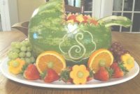 Fancy Personalized Watermelon Baby Carriage | Food Styling | Pinterest throughout Watermelon Baby Shower