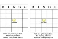 Fancy Photo : Baby Shower Bingo Directions Baby Image within High Quality Free Baby Shower Bingo