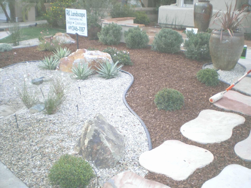 Elegant Front Yard Landscaping Ideas With Rocks Ideas House