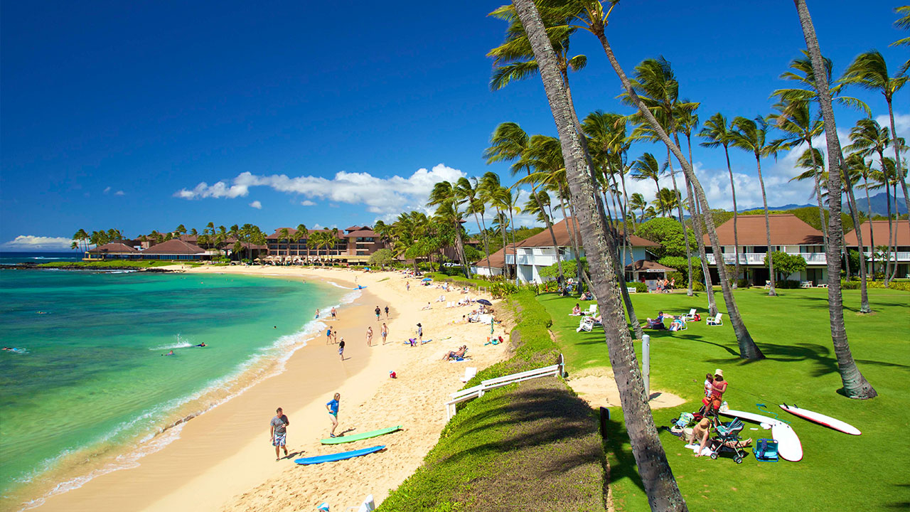 Fancy Poipu Beach Vacation Condo Deals | Kiahuna Plantation | Castle Resorts throughout Kiahuna Plantation & The Beach Bungalows