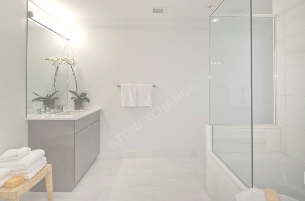 Fancy Pros And Cons Of Marble Bathroom Flooring | Nalboor for Flooring Bathroom