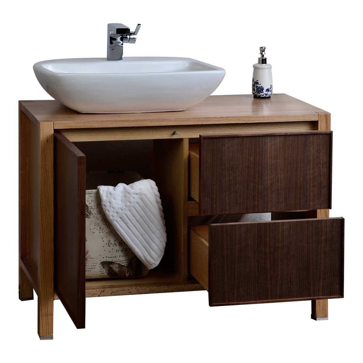 Fancy Real Wood Bathroom Vanities For 42 Single Solid Wood Bathroom Vanity regarding 44 Bathroom Vanity
