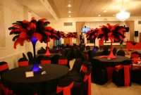 Fancy Red And Black Birthday Party Decorations Image Inspiration Of Fall for Casino Theme Party Decorations