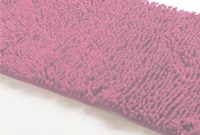 Fancy Red Bath Mat Soft Shaggy Mat Chenille Mat Area Rug Bathroom Floor pertaining to Bathroom Floor Mat