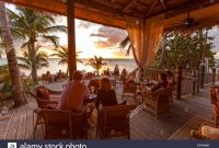 Fancy Restaurant Dining Room At Sunset, Little Palm Island Resort, Florida within High Quality The Dining Room At Little Palm Island