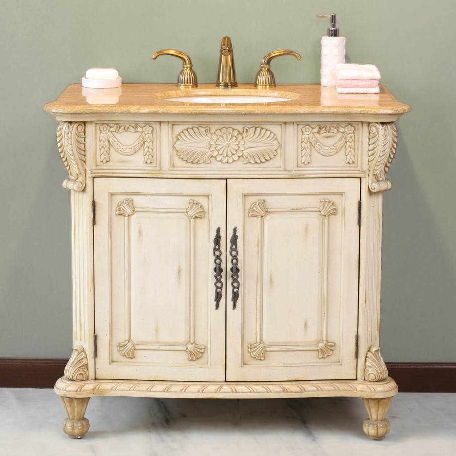 Fancy Retro Traditional Bathroom Vanities : Top Bathroom - Ideal within Traditional Bathroom Vanity