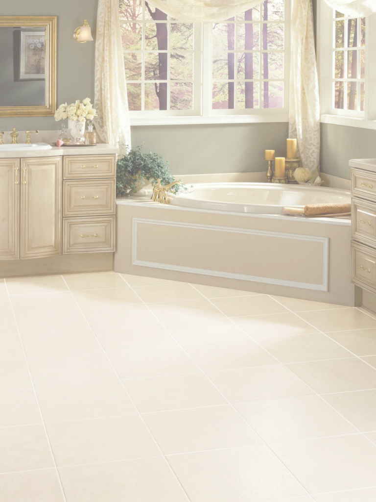 Fancy Self Stick Vinyl Tile Installation Bathroom Vinyl Flooring Bathroom with regard to Elegant Vinyl Flooring For Bathroom