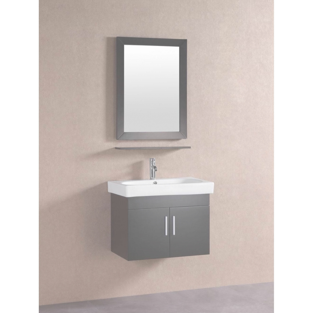 Fancy Shop Belvedere Modern Espresso 28-Inch Floating Bathroom Vanity - On for Review Floating Bathroom Sink