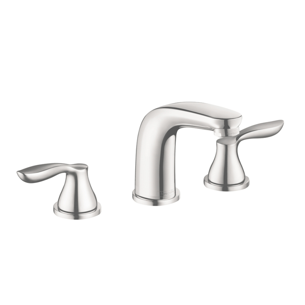Fancy Shop Hansgrohe Solaris E Chrome 2-Handle Widespread Bathroom Faucet inside Hansgrohe Bathroom Faucet