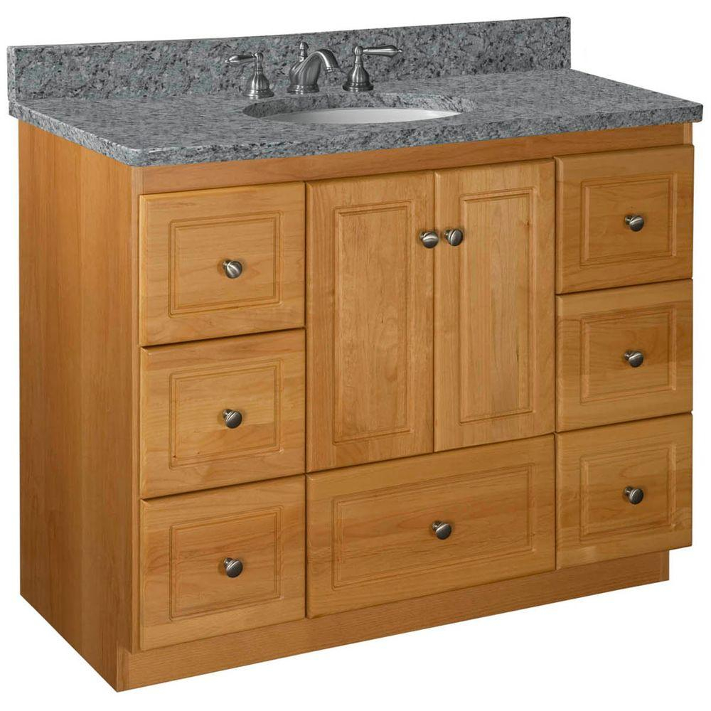 Fancy Simplicitystrasser Ultraline 42 In. W X 21 In. D X 34.5 In. H within Elegant 42 Bathroom Vanity Cabinets