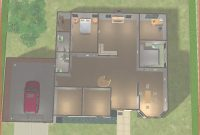 Fancy Sims 2 House Designs Floor Plans New Mod Sims Suburban Home House inside Sims 2 Floor Plans