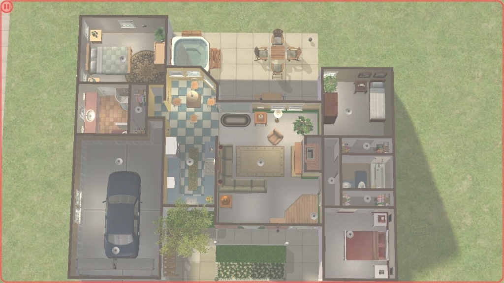 Fancy Sims 2 House Floor Plans - Musicdna for Sims 2 Floor Plans
