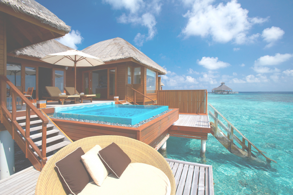 Fancy Stunning Bora Bora Overwater Bungalows — Bungalow House : Awesome with Bungalows In Bora Bora
