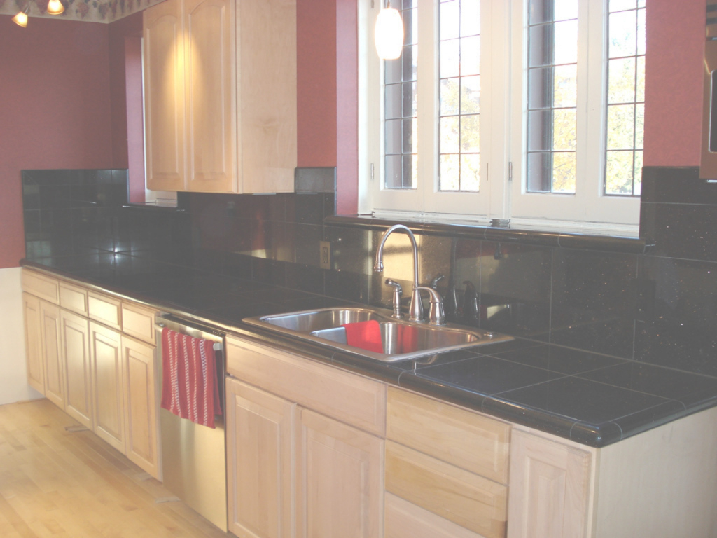 Fancy Stylish Black Granite Kitchen Countertops Awesome Style With Black pertaining to Luxury Black Countertop Kitchen