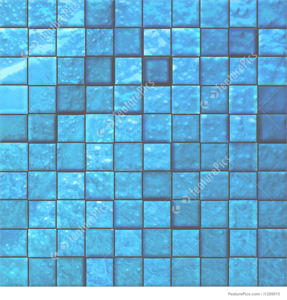 Fancy Texture: Abstract Bathroom's Tiles Blue - Stock Illustration pertaining to Luxury Blue Bathroom Tiles Texture