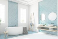 Fancy The 6 Top Bathroom Tile Trends Of 2018 within Luxury Blue Bathroom Interior Design