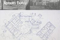Fancy The Addams Family Home At 0001 Cemetery Lane — Blueprints / Floor intended for Addams Family Mansion Floor Plan
