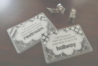 Fancy The Bathroom Pass: 5Th Grade – The Brown Bag Teacher for Bathroom Pass Ideas