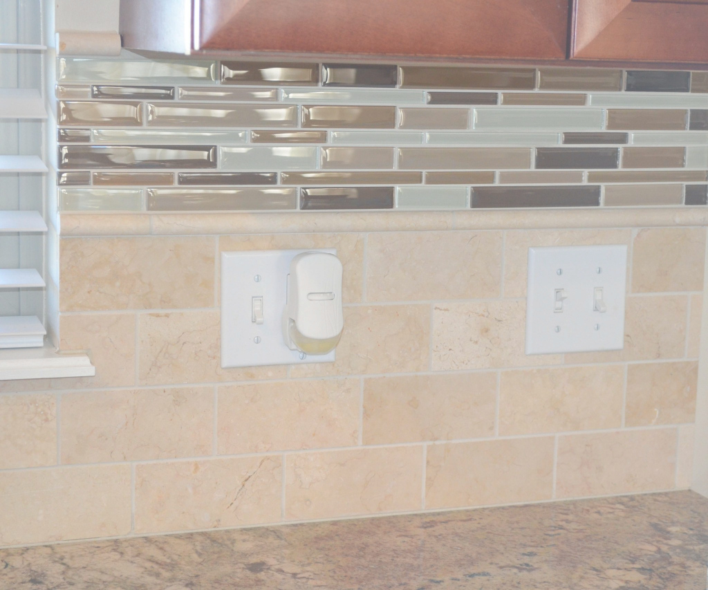 Fancy Tile Backsplash - Her Tool Belt pertaining to How To Grout Backsplash