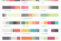 Fancy Top 150 Most Popular Pltts Color Palettes – Beantown Design throughout Color Palette With Names