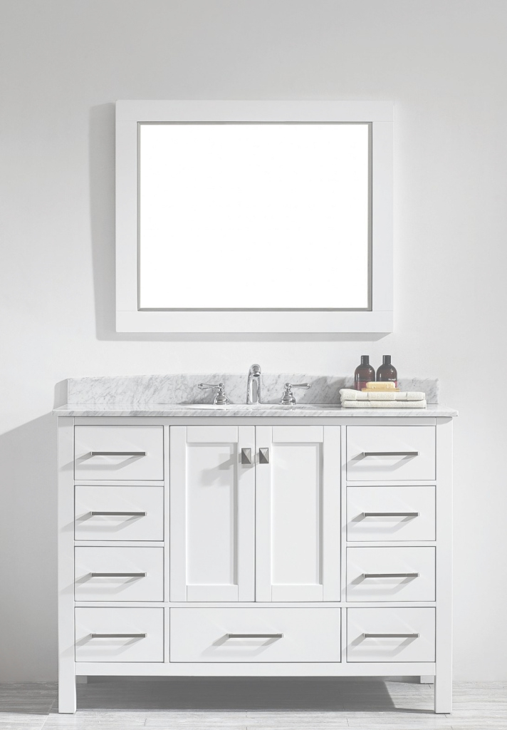 Fancy Top 90 Unbeatable 48 Inch Single Sink Vanity 60 Bath Bathroom Inches within Review 48 Inch Bathroom Vanity With Top