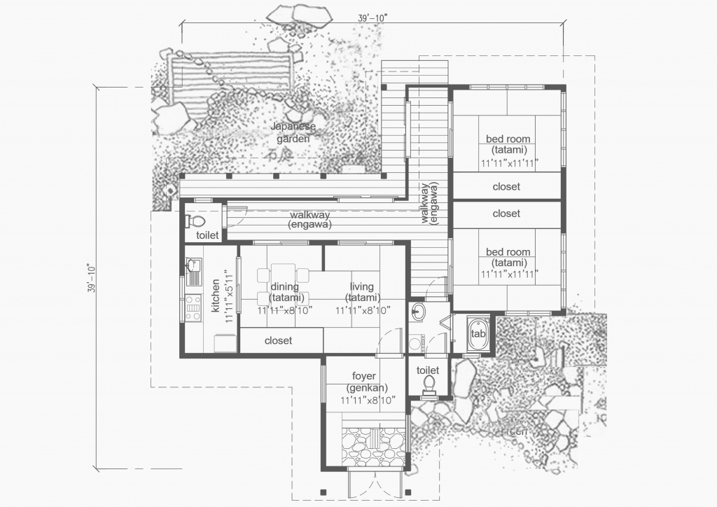 Fancy Traditional Japanese House Plans Free Unique Traditional Japanese intended for Review Traditional Japanese House Plans Free