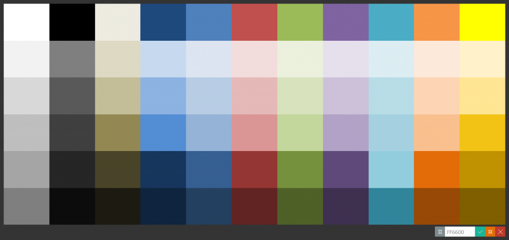 Fancy Transparent Color Code In Android with regard to Android Color Codes
