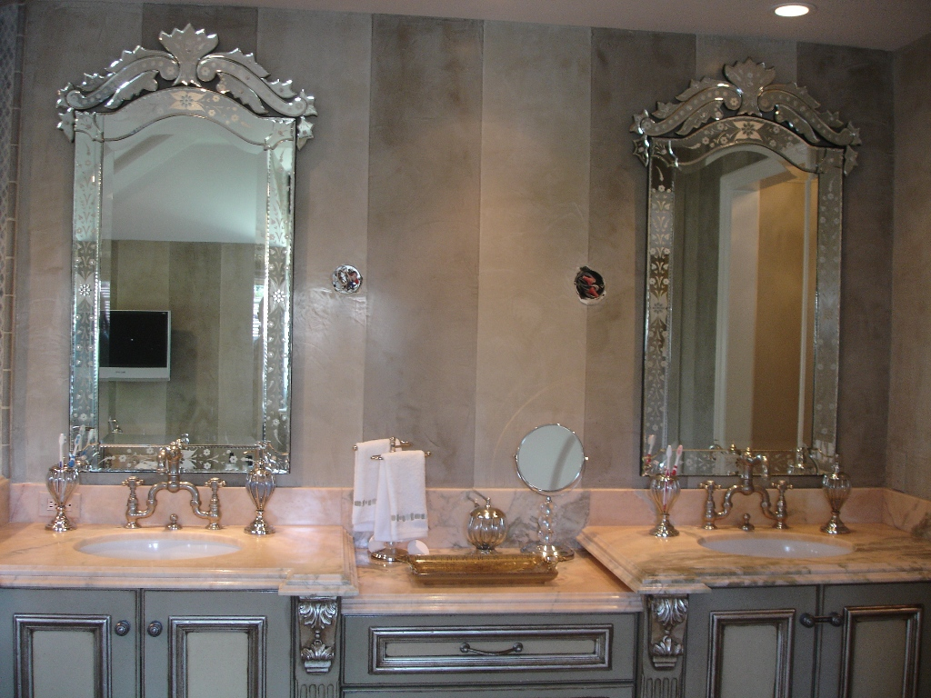 Fancy Unique Bathroom Vanity Mirrors — Fortmyerfire Vanity Ideas : Making pertaining to Beautiful Bathroom Vanity Mirrors