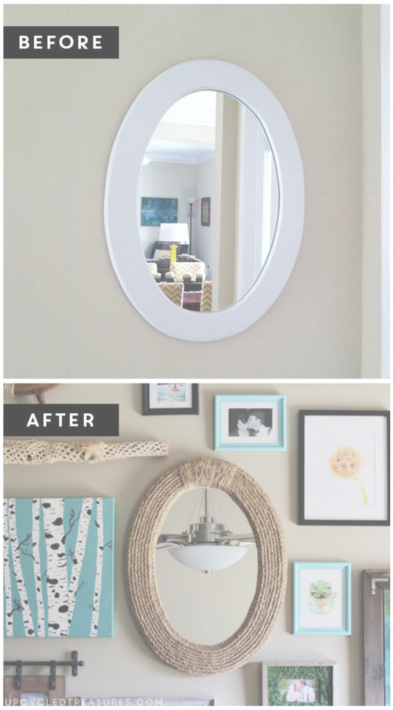 Fancy Unique Nautical Bathroom Mirror 21 Alongside Home Decor Ideas With in Nautical Mirror Bathroom