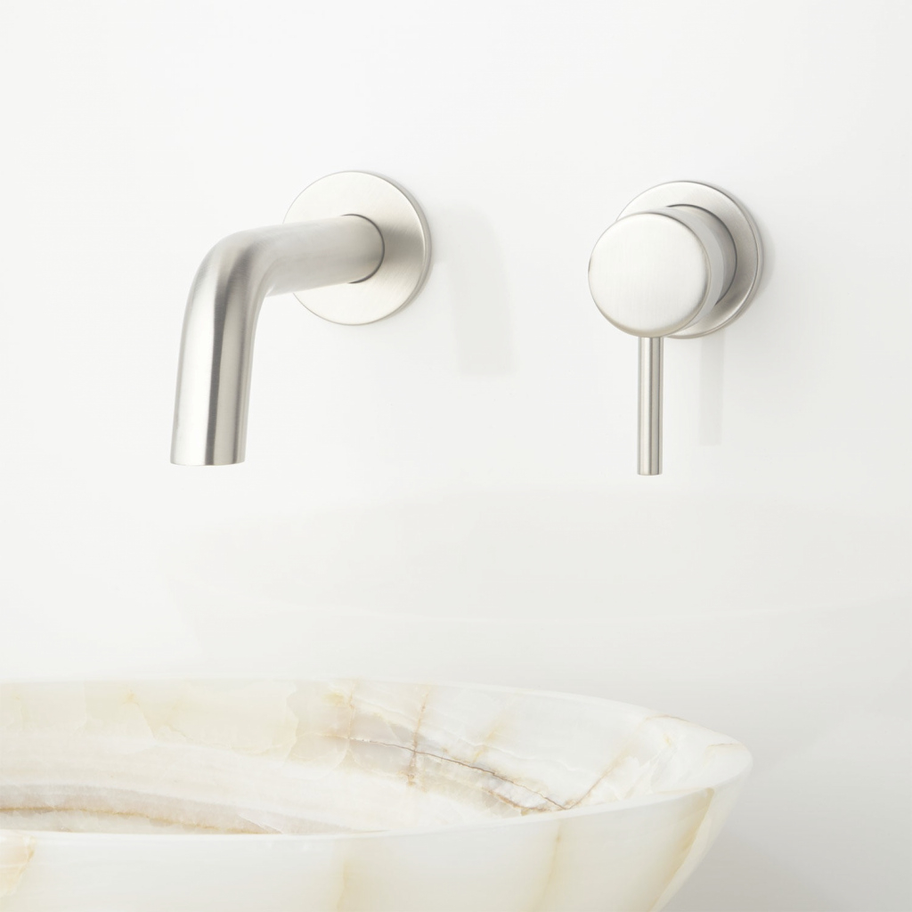 Fancy Wall Mount Bathroom Sink Faucet | Dodomi regarding Wall Mount Bathroom Sink Faucet