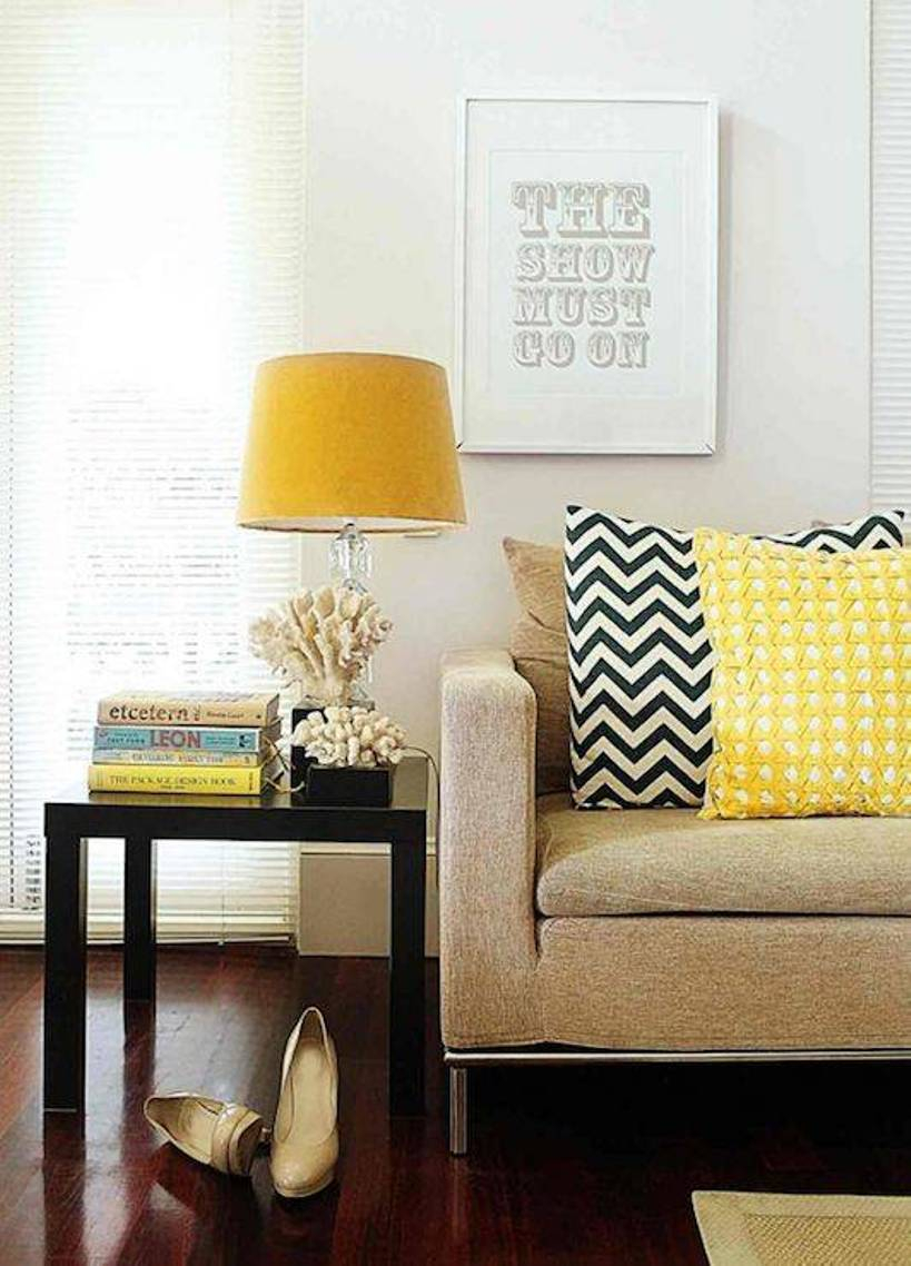 Fancy Yellow Table Lamps For Living Room — S3Cparis Lamps Design : Cozy pertaining to Lamps For Living Room