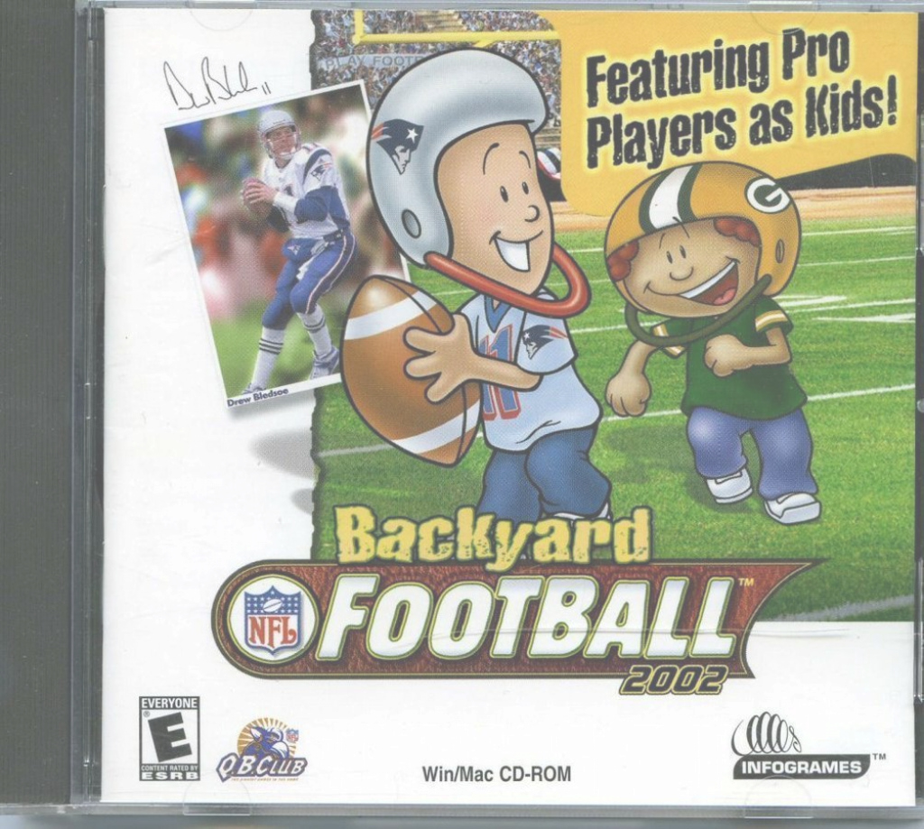 Glamorous 109.11115: Backyard Football 2002: Featuring Pro Players As Kids inside Backyard Football Game