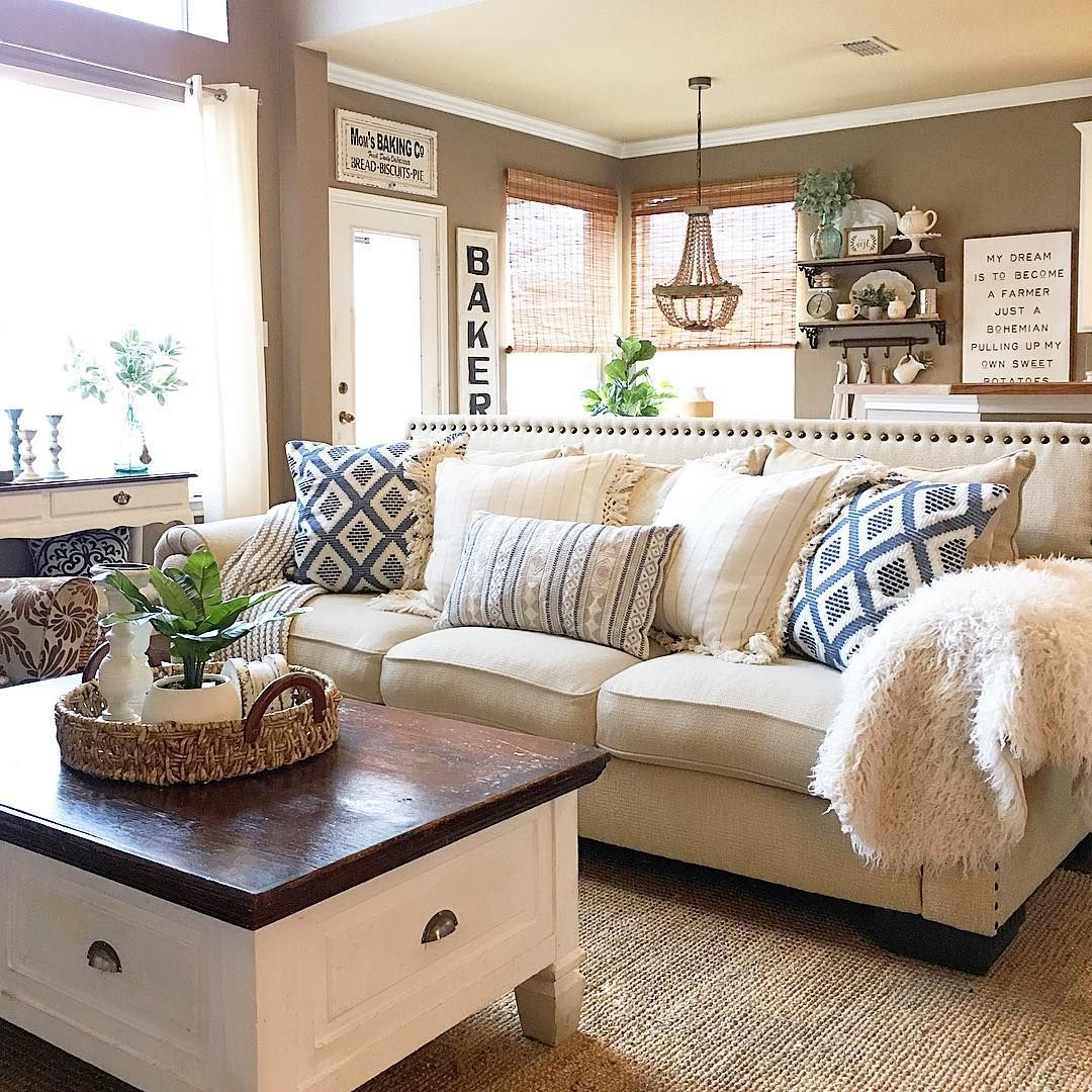 Glamorous 1,435 Likes, 58 Comments - Aly Mcdaniel (@thedowntownaly) On throughout Cozy Living Room Ideas