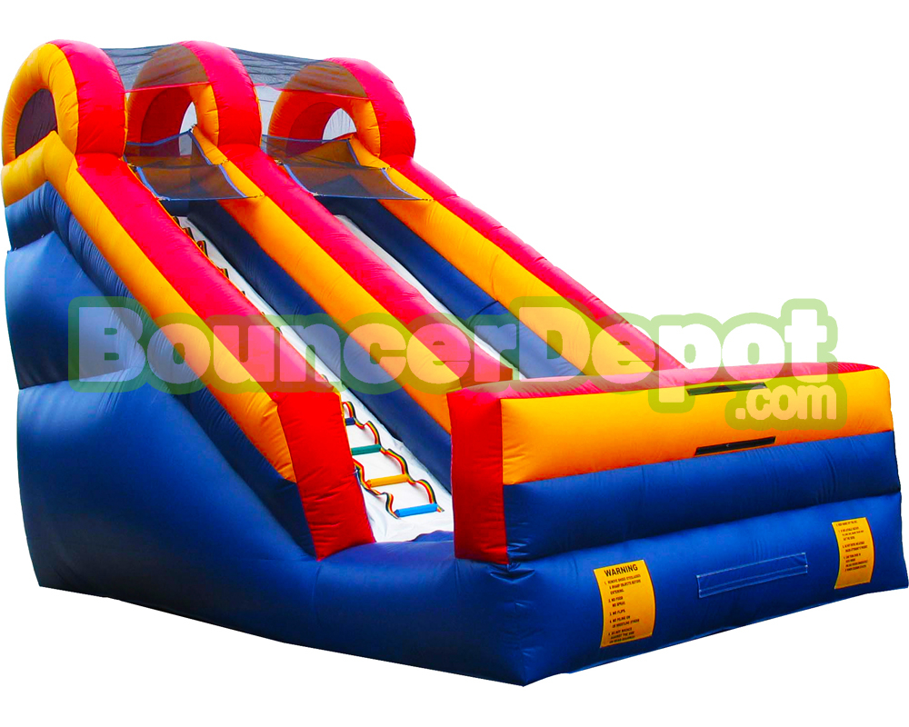 Glamorous 18 Feet Backyard Inflatable Water Slide | Bouncer Depot-Water Slide inside Lovely Backyard Inflatables