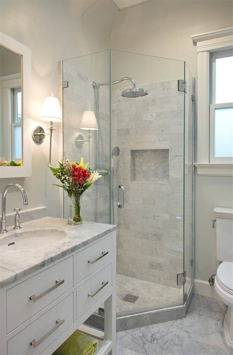 Glamorous 32 Small Bathroom Design Ideas For Every Taste | Pinterest | Small throughout Ideas For Small Bathroom Remodel