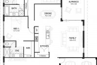Glamorous 4 Bedroom House Plans & Home Designs | Celebration Homes with Inspirational 3 4 Bathroom Floor Plans