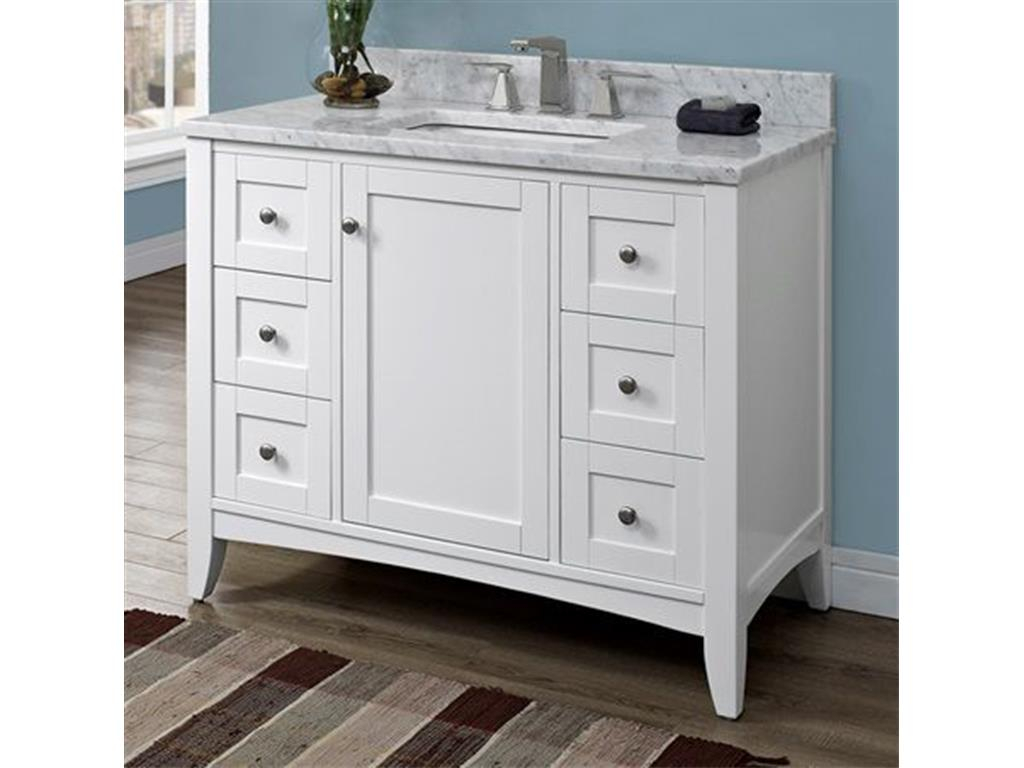 Glamorous 42 Inch Bathroom Vanity Combo | Onsingularity regarding Beautiful 42 Inch Bathroom Vanity Combo
