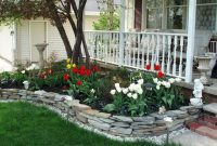 Glamorous 45 Stunning Front Yard Landscaping Ideas On A Budget | Homedecort in Yard Landscape Pictures