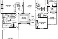 Glamorous 5 Bedroom 3 Bath Floor Plans (Photos And Video) | Wylielauderhouse with regard to Inspirational 3 4 Bathroom Floor Plans